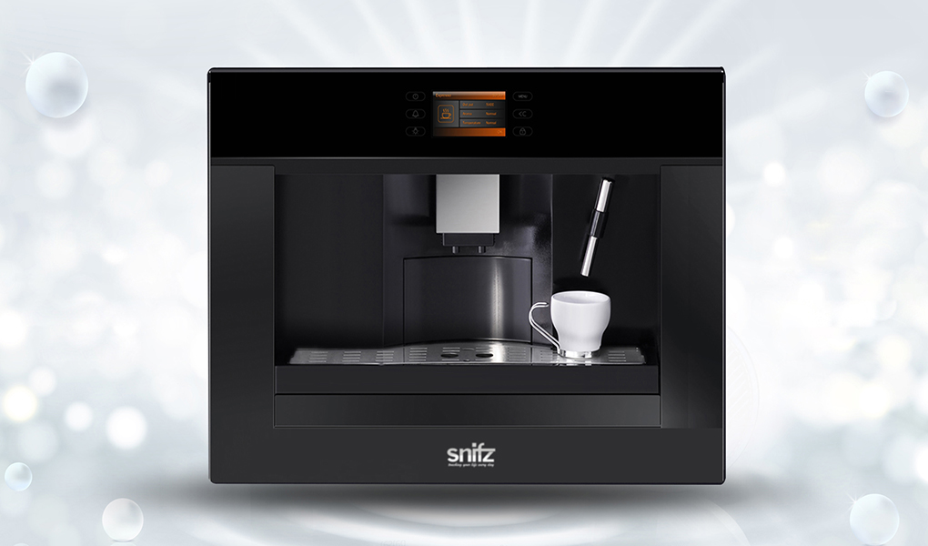 Built-in coffee maker